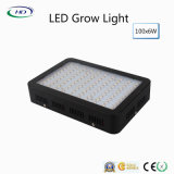 黒いハウジング100PCS*6W LEDはHydroponicsシステム成長のために軽く育つ