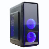 Spitzen-PC Kasten mit transparentem Seitenkonsole-kühlem Spiel-Computer-Chassis