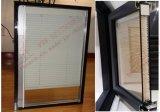 Ventana de aluminio de lujo del marco con los obturadores incorporados (BHA-CW52)