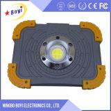 PANNOCCHIA che determina zona di lavoro di tensione 3V LED ricaricabile Worklight