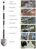 Располагаться лагерем Hiking выживания инструментов напольного лопаткоулавливателя алюминиевого сплава складчатости лопаткоулавливателя многофункционального перемещая инструмент лопаты эмерджентного складывая