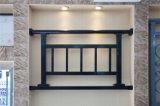 Balcon en acier galvanisé décoratif de haute qualité 32 de clôture d'alliage de Haohan Alluminum