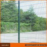 Angestrichenes grüne Sicherheit geschweißtes Stahlmaschendraht-Fechten