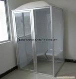 小型のアクリルの物質的な湿り蒸気の屋内蒸気部屋