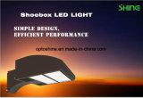 Lumière extérieure de l'appareil d'éclairage DEL Shoebox de parking d'Iip65 100W DEL