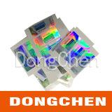 Liberar las etiquetas engomadas del frasco del holograma de Enanthate de la testosterona del diseño