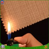 Tissu imperméable à l'eau d'arrêt total d'enduit de franc tissé par polyester à la maison de textile pour le rideau en guichet