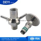 Les mesures sanitaires SS304 en acier inoxydable SS316L bière Triclamp vanne d'échantillonnage