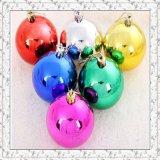 Высокая краска плакировкой вакуума шарика рождества лоска