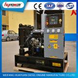 Pequeño generador diesel de la salida 15kw de reserva con el motor de 4 cilindros