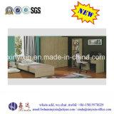 Het eenpersoonsbed van de Slaapzaal van het Meubilair van de Slaapkamer van de school met Garderobe (S17#)