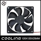 ventilador de enfriamiento axial del humectador de dc 12V 120m m de 120X120X25 milímetro 12025