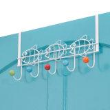 Sobre a Porta 5 rack de suporte da borboleta de gancho