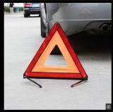태양 소통량 교통 표지 비상사태 경고 삼각형