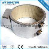 Bande de chauffage en céramique avec fil métallique blaisé