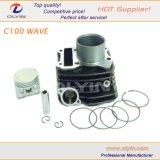 Anello di stantuffo del motore, kit del cilindro del motociclo dell'onda C100 per le parti del motore