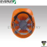 ER9108 세륨 EN 397 단단한 모자 PE 헬멧 건축 헬멧