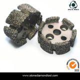 Des roues à fourgonnette à brasage sous vide pour machines CNC