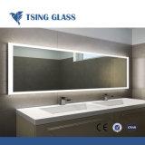 - 6 mm 1.1mm grande feuille de verre de couleur claire ou miroir de l'argent enduit ou recouvert de verre flotté en aluminium avec Max 2440 X