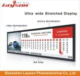 86 duim ultra Brede Uitgerekte LCD van de Staaf van de Vertoning van het Comité Signage van het Netwerk van WiFi Speler van de Van verschillende media van de Advertentie Digitale Volledige van de Hoofd kleur Monitor die Media Player adverteren