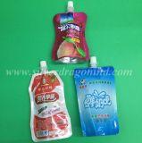 Kunststoffgehäuse-Beutel, flüssiger Fastfood- Tülle-Beutel