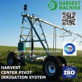 Sistema de irrigación lateral automático grande de la granja del movimiento usado para el prado