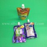 Sacchetto in piedi del sacchetto del becco di colori per spremuta, vino, latte