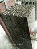 Прибалтийский Countertop гранита Brown для ванной комнаты и тщеты