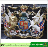 3D Metal Crown National Emblem Coat di Arms