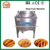 Machine profonde électrique commerciale de friteuse de casse-croûte d'acier inoxydable