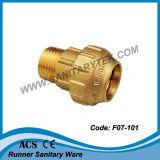 La compresión de latón racor para tubo de PE (F07-101)