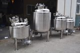 Acero inoxidable pulido espejo depósito mezclador para fermentar la leche
