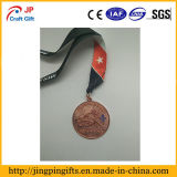 De zwarte Medailles van de Sporten van de Douane van de Legering van het Zink van het Nikkel