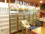 5 Koelkast van de Vertoning van deuren de Rechte voor Supermarkt/Winkelcomplex