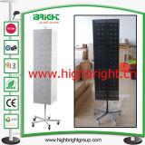 12 Hooks Spinner Planta soporte giratorio de Display