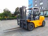 세겹 돛대를 가진 포크리프트 기계 5 톤 LPG/Diesel 포크리프트