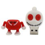 Esqueleto Modelo de dibujos animados USB 2.0 Suficiente Memory Stick Flash Drive