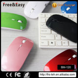 China Factory Super Slim Wireless Bluetooth Mouse para Tablet, Laptop, Computador
