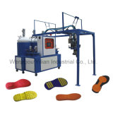 Baja presión de la estación de 60 PU vertiendo la máquina para fabricación de calzado