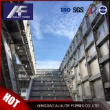 Het snel Concrete Gietende Systeem van de Bekisting van het Aluminium