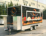 Crême glacée de nouveau produit Vending la remorque mobile de nourriture
