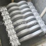 Centralizzatore Non-Saldato del casing del pozzo della molla dell'arco dell'acciaio inossidabile di api 10d