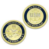 Carrello personalizzato della serratura della moneta del ferro dell'identificazione della moneta di sport dell'oro del premio