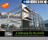 Haltbares modulares Stahlkonstruktion-Werkstatt-Stahl-Lager