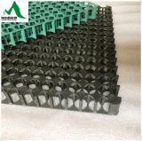 Gabbia di plastica del piatto delle cellule e di drenaggio dell'HDPE/drenaggio