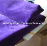 Beschichtete Polyester-Pinsel 100%/,/verpfändete/, Polyester-Samt-Gewebe für Kleid/Schuhe/Sofa scharend
