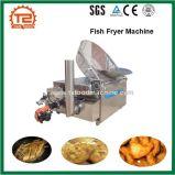 Friggitrice profonda dei pesci dell'acciaio inossidabile di potere del gas di controllo di temperatura