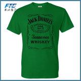 カスタム高品質のワイシャツの偶然の固体人の通気性のTシャツの不足分の袖のワイシャツ