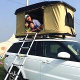 for Car Camping Trip 4WD Offroad Hard Shell Roof Top Tent with Side Awning