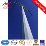 4mm 6mm Electric Power Transmission Steel Tower Pole